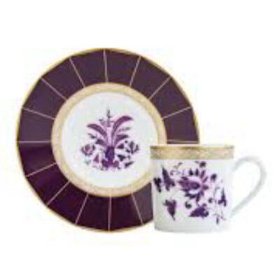 PRUNUS. coffee cup and saucer