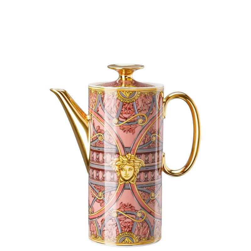 Versace Scala Palazzo Rosa Coffee Pot, large
