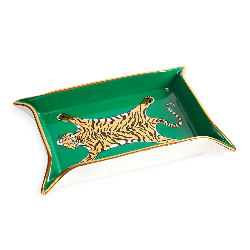 Tiger Valet Tray, large