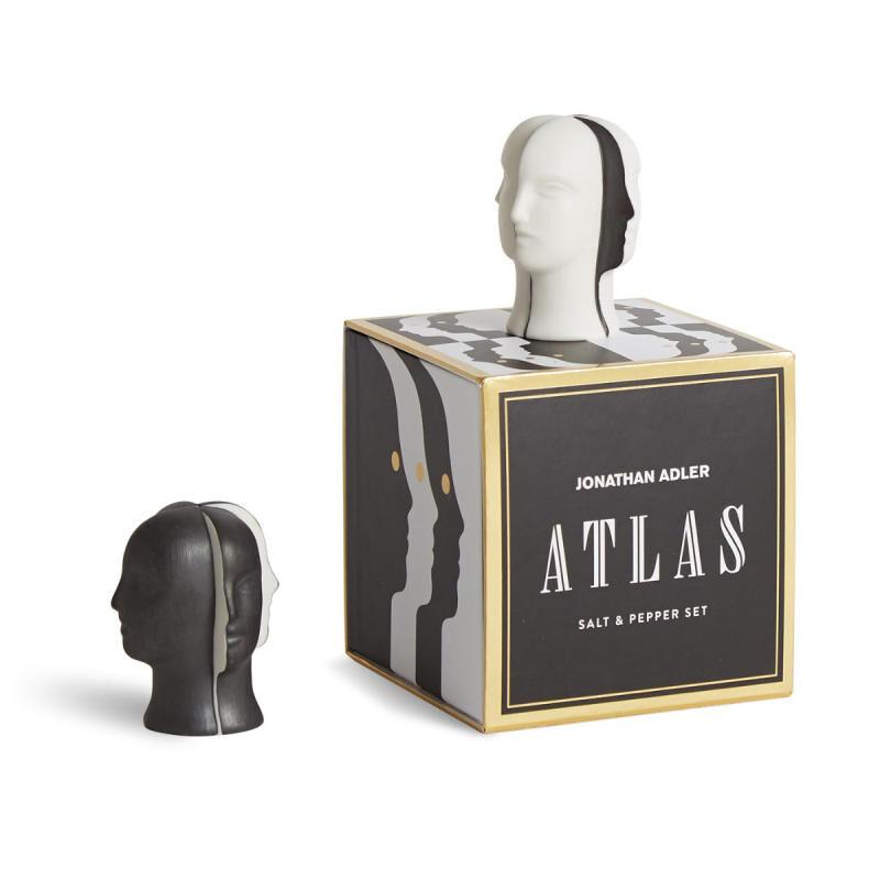 Atlas Salt & Pepper Set, large