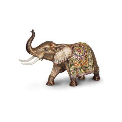 Duke Grand Tapestry Elephant Figurine
