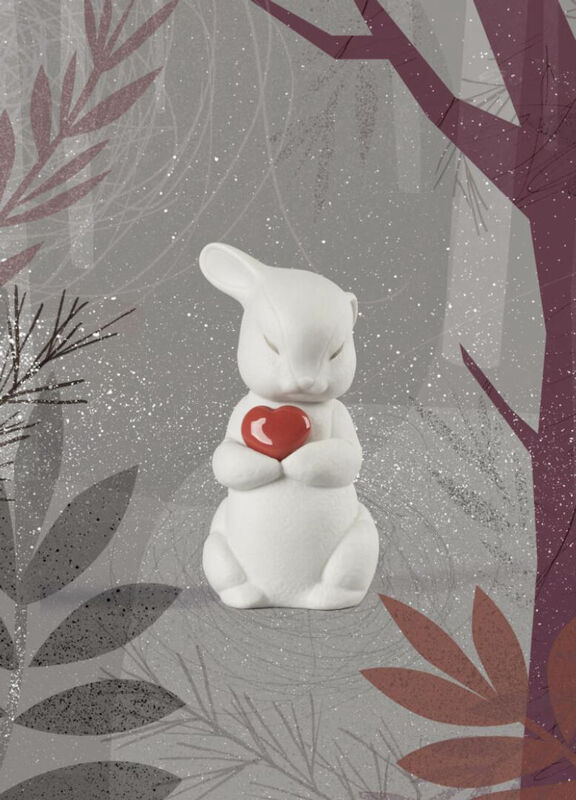 Puffy-Generous Rabbit Figurine, large