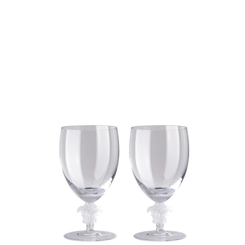 Versace Medusa Lumiere Water Glass Set, large
