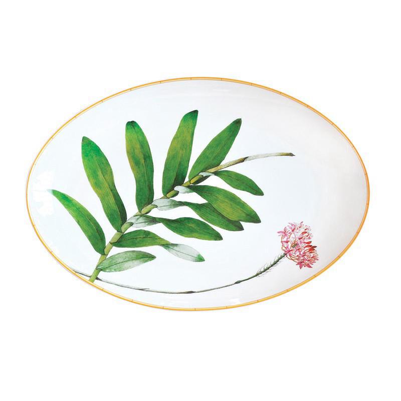 طبق جاردين إنديان البيضاوي, large