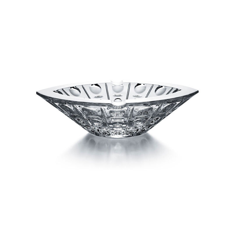 Clear Equinoxe Ashtray, large