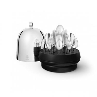 Ruche Jardin D'Eden 38-Piece Silver Plated Flatware Set