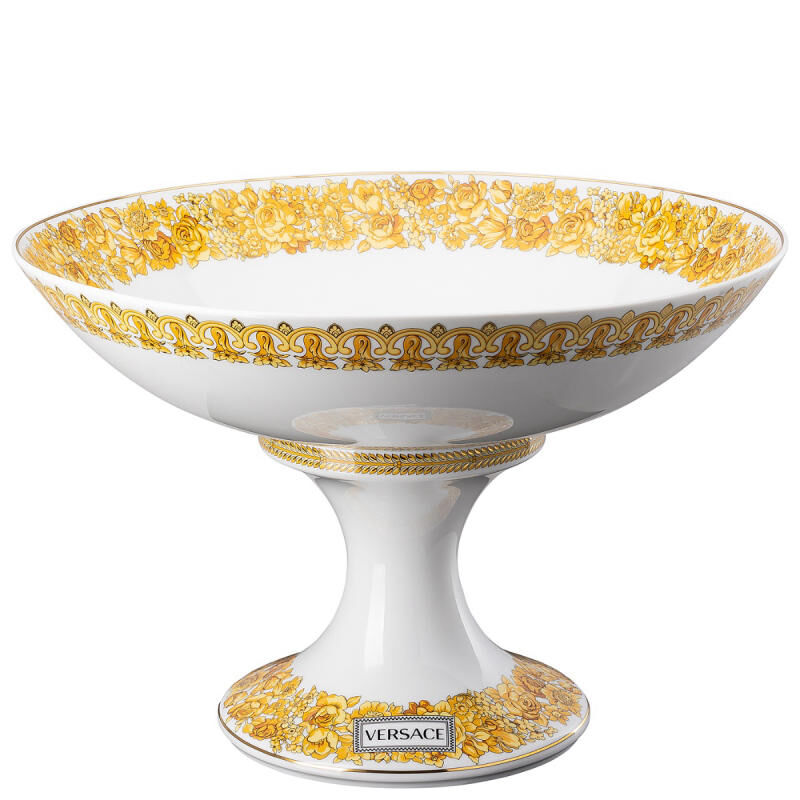 Medusa Rhapsody Bowl With Foot, large