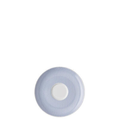 Moon Cipango Blue Saucer
