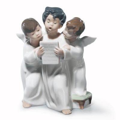 ANGEL'S GROUP FIGURINE