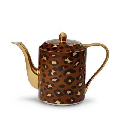 LEOPARD TEA POT