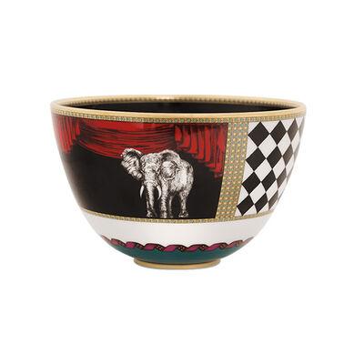 Totem Elephant Bowl