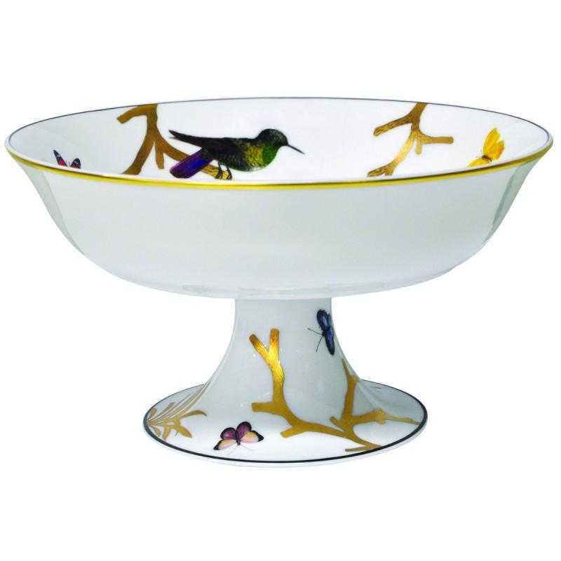 Aux Oiseaux Footed Bowl, large