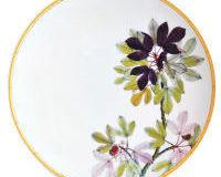Jardin Indien Salad Plate, small