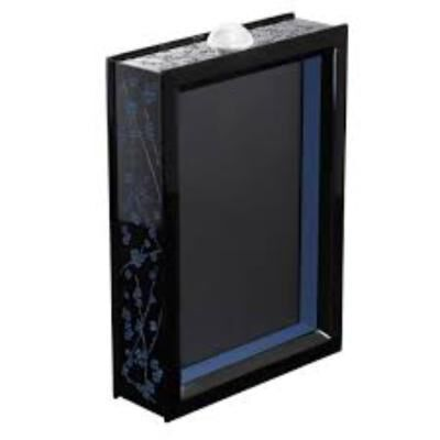FLEURS DE CERISIER LACQUERED WOOD PHOTO FRAME