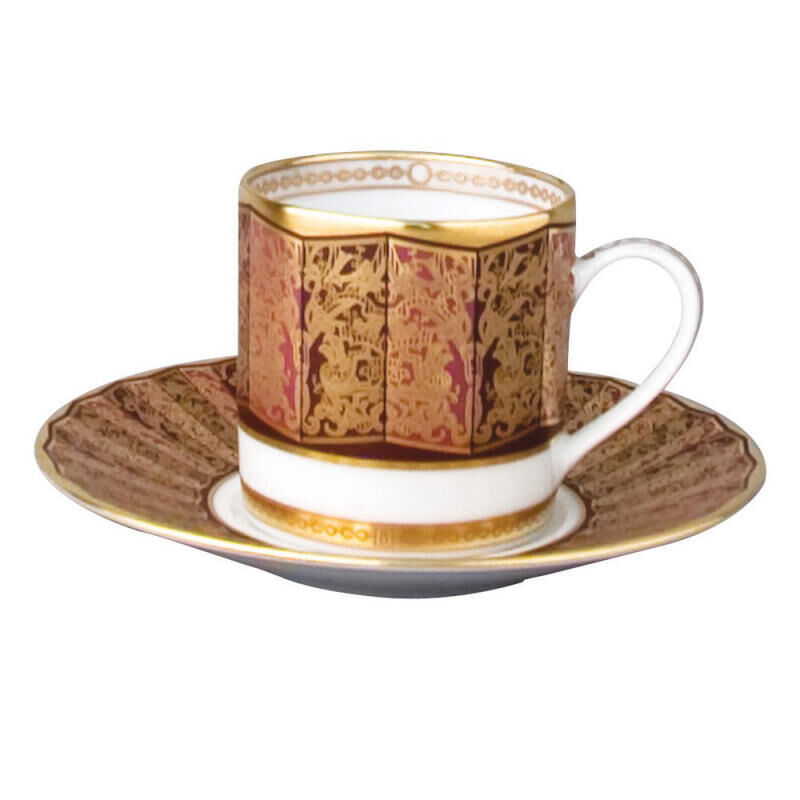 Eventail Ad Cup Saucer, large
