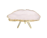 Cake Stand 24K Gold-Plated, small