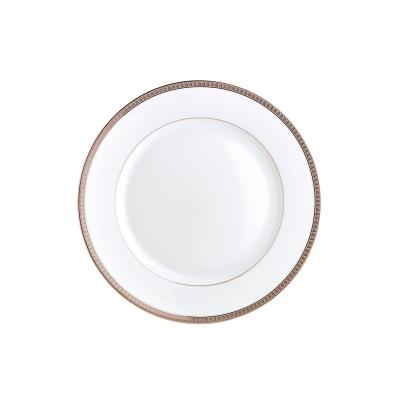 Malmaison Platine Dinner Plate