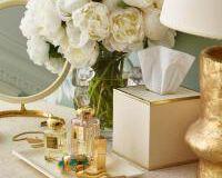 Shagreen Tissue Box, small