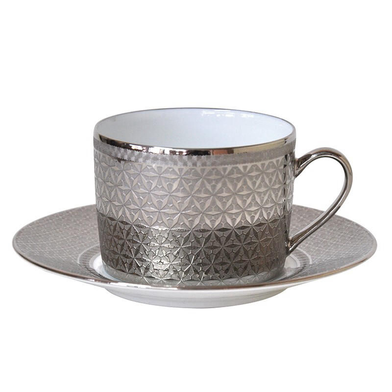 ديفين اكسترا كوب شاي وصحن, large