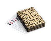 Crocodile Box With Playing Cards - 2 Decks, small