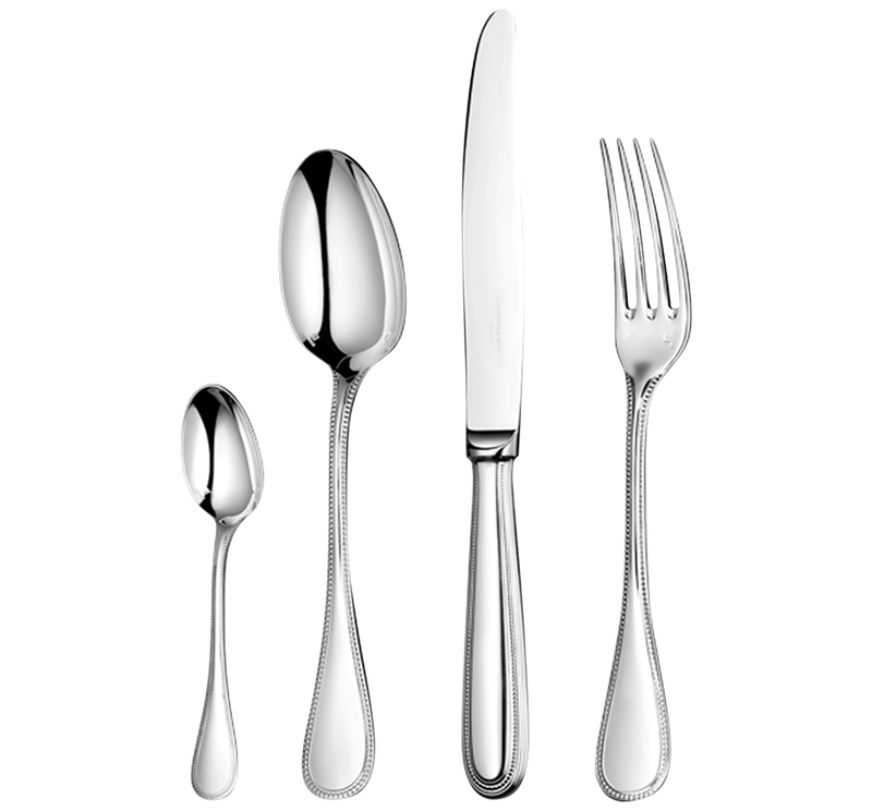 Perles Flatware Set For 12 People (75 Pieces), large