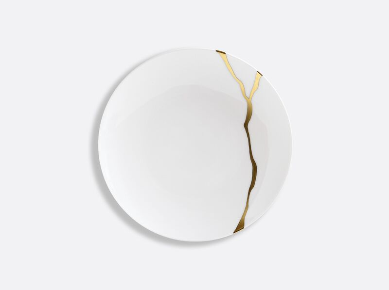 Kintsugi Coupe Bread And Butter Plate, large