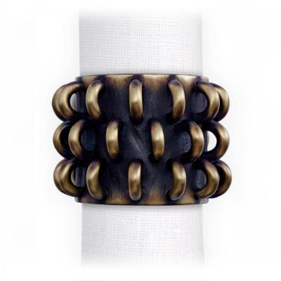 Tulum Rings Napkin Jewels Set of 4