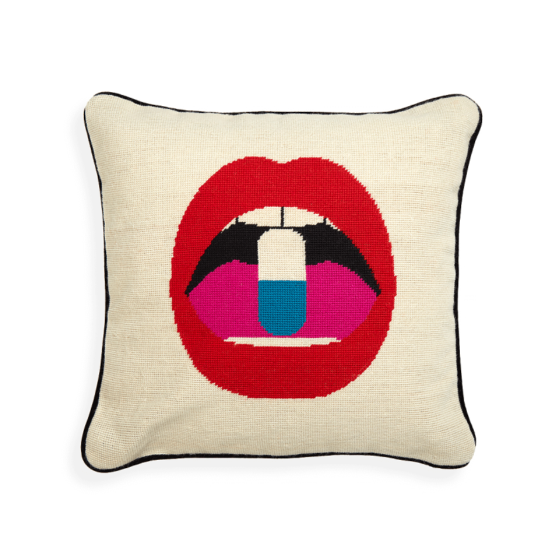 Needlepoint Pillow, large
