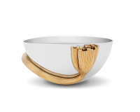 Deco Leaves Bowl, small