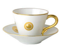 Ithaque Or Gift Box Set Of 6 Cups And Saucers, small