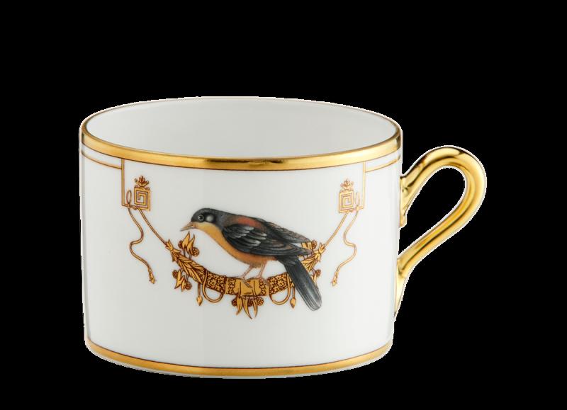 كوب الشاي القفص العنق الأصفر, large