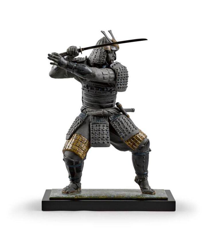 تمثال الساموراي المحارب, large
