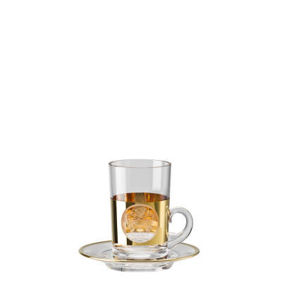 MEDUSA MADNESS ORO TEA GLASS