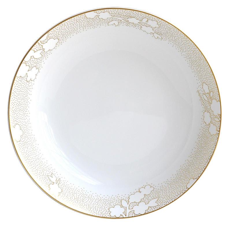 Reve Deep Round Dish, large