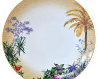 Tropiques Dinner Plate, small