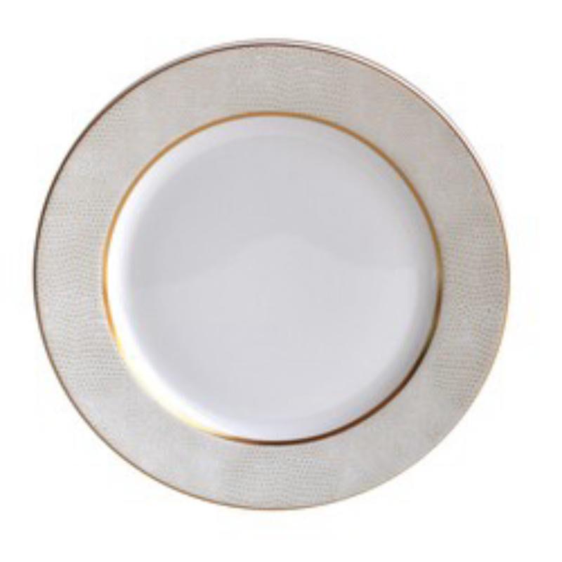 Sauvage Blanc Salad Plate, large
