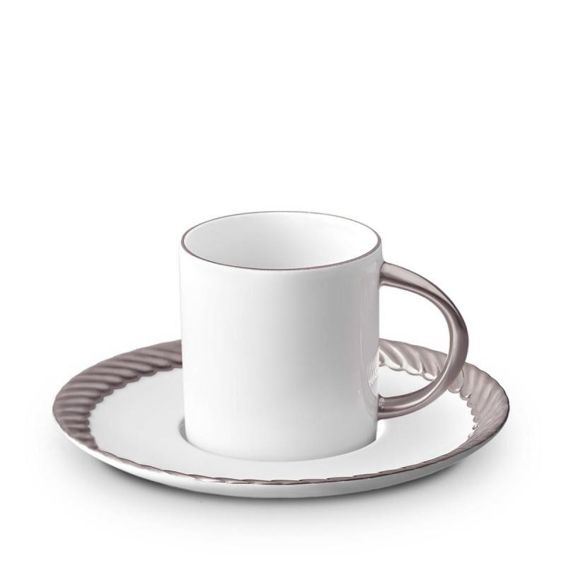 Corde Espresso Cup + Saucer Set Of 6, large