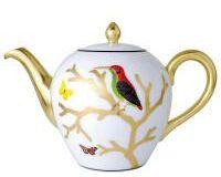 Aux Oiseaux Tea Pot, small