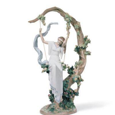 Living in a Dream Woman Figurine
