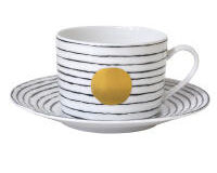 Aboro Tea Cup And Saucer, small