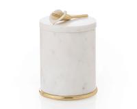 Calla Lily Round Container, small