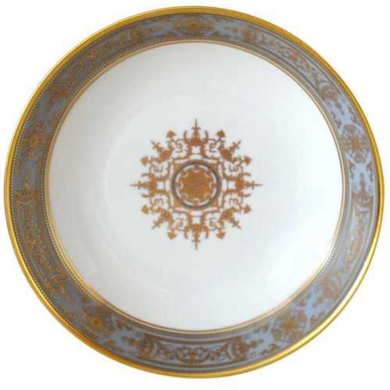 AUX ROIS/FLANEL RIM SOUP PLATE, large