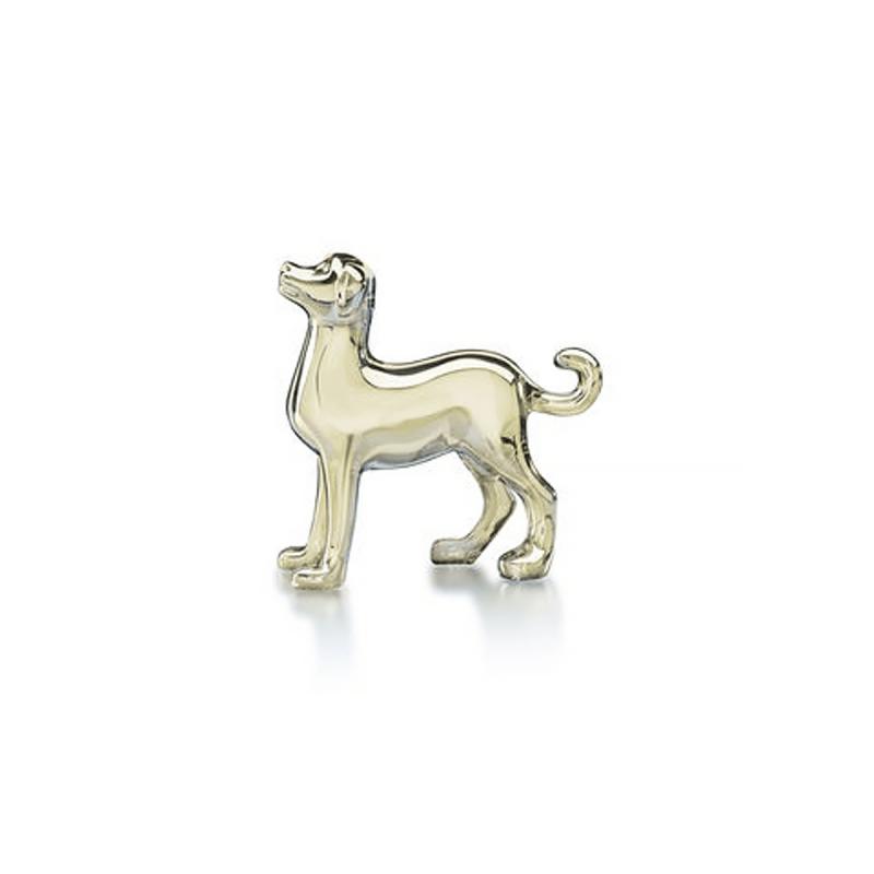 Golden Zodiac Dog, large