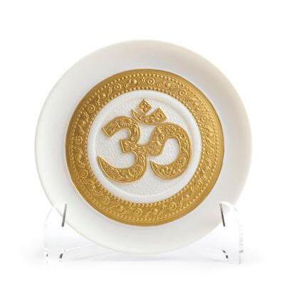 Om Decorative Plate