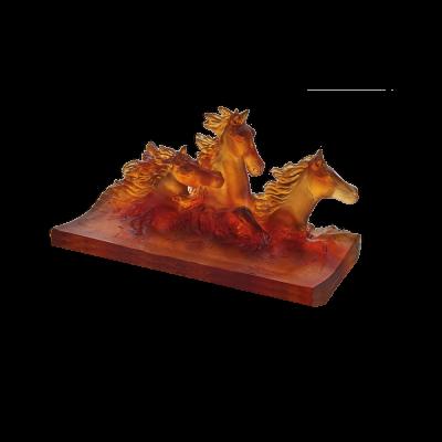 CAVALCADE AMBER PENCIL HOLDER