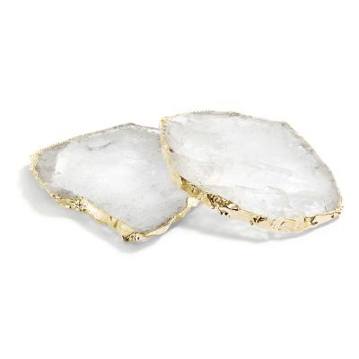 Crystal 24K Kivita Coasters
