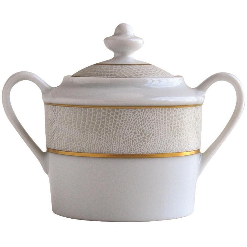 Sauvage Blanc Sugar Bowl, large