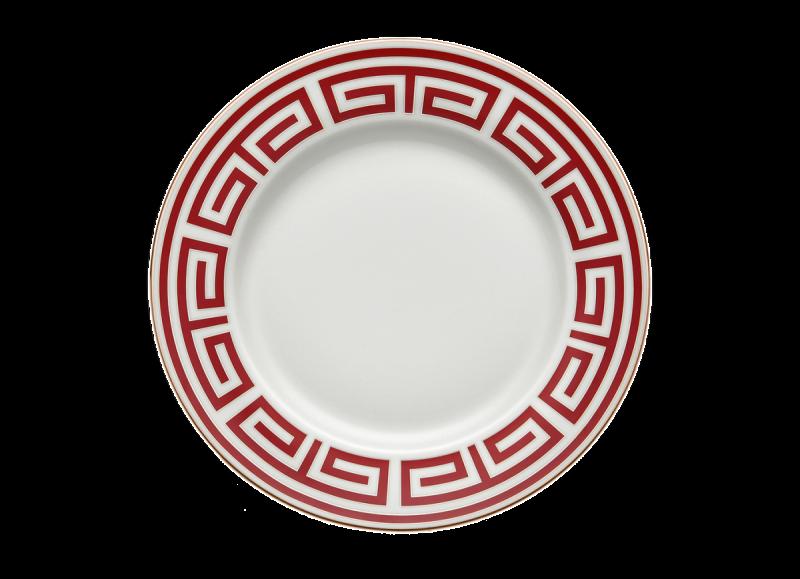 Dinner Plate Labirinto Scarlatto, large