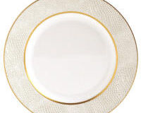 Sauvage Blanc Bread And Butter Plate, small