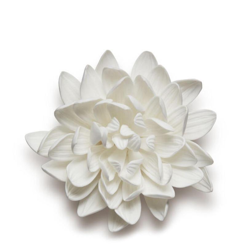 Dahlia Porcelain Flower, large